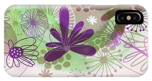 Flowers Of Nature Phone Case by Nomi Elboim