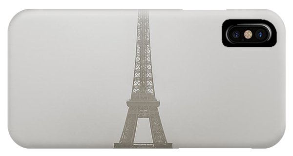 Foggy Morning In Paris IPhone Case
