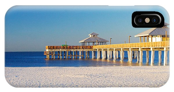 Fort Myers Beach Pier IPhone Case