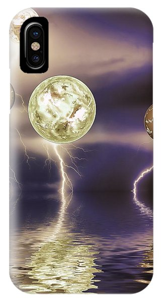 Galactic Storm Phone Case by Sharon Lisa Clarke