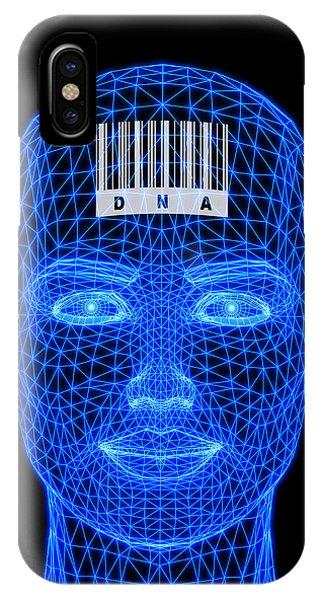 Genetic Individuality Phone Case by Pasieka