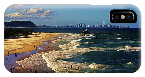 Gold Coast Beaches IPhone Case