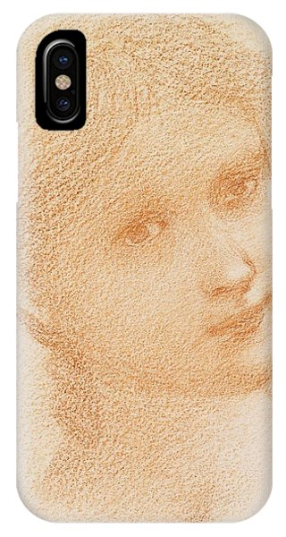 Head Study Of A Girl IPhone Case