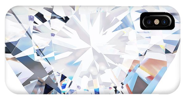 Wedding Gift iPhone Case - Heart Diamond  by Setsiri Silapasuwanchai