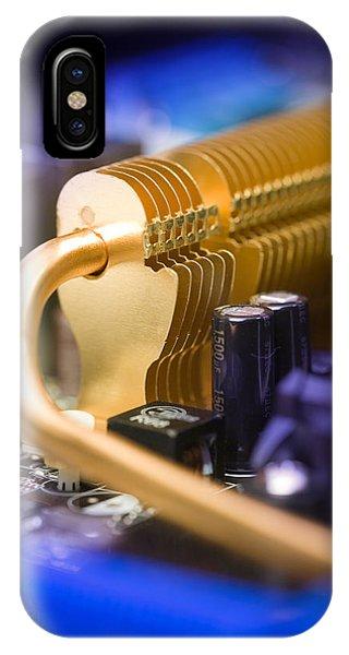 Heat Sink Phone Case by Paul Rapson