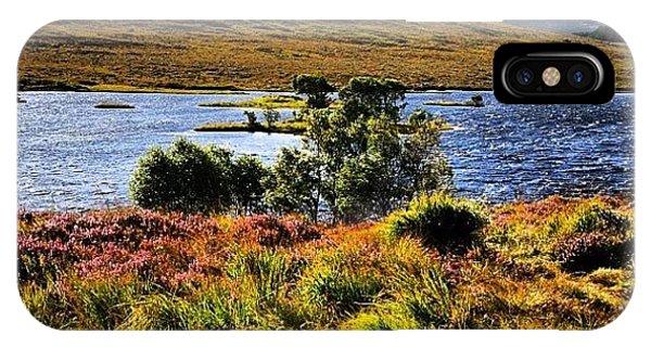 Beautiful Landscape iPhone Case - Highlands by Luisa Azzolini