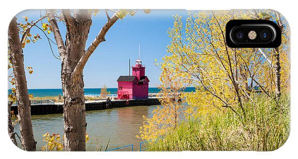 Holland Mi Lighthouse IPhone Case