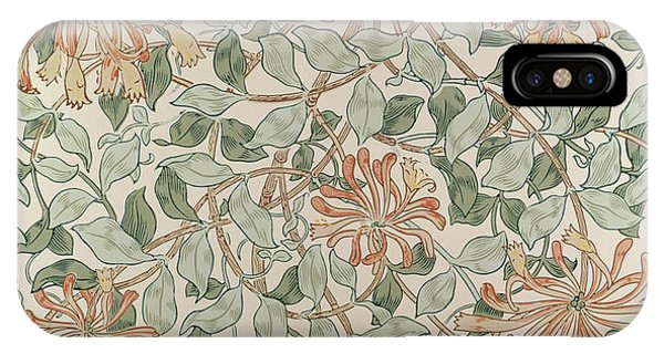 Repeat iPhone Case - Honeysuckle Design by William Morris