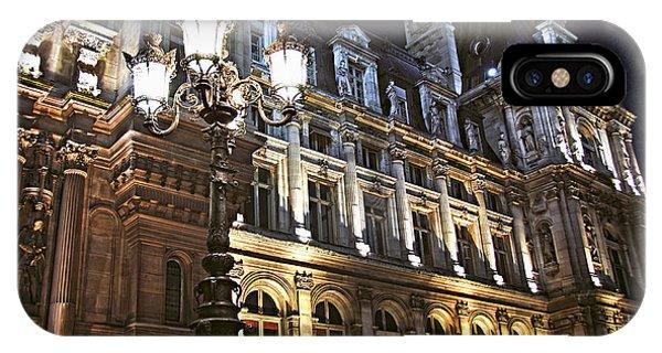 Hotel De Ville In Paris IPhone Case