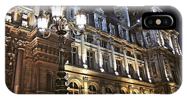 Hotel De Ville In Paris IPhone Case
