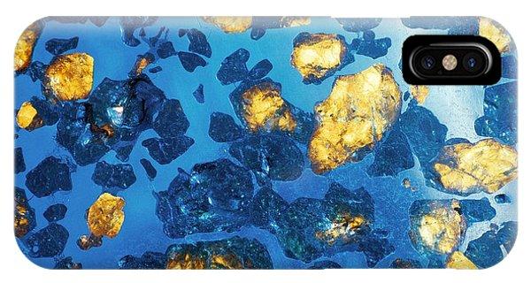 Imilac Meteorite Sample Phone Case by Detlev Van Ravenswaay