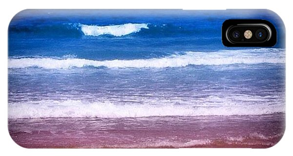 Travel iPhone Case - Indian Ocean by Luisa Azzolini
