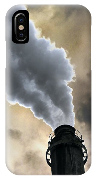 Industrial Air Pollution Phone Case by Cordelia Molloy