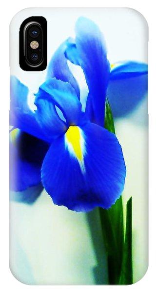 Iris Phone Case by Sharon Lisa Clarke