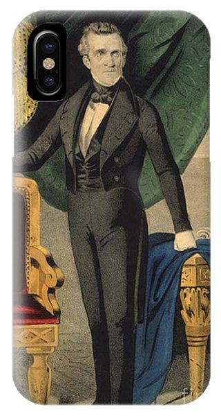 James Polk, 11th American President IPhone Case