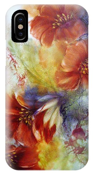 La Bignonia Rossa IPhone Case