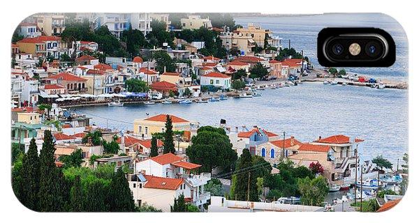 Greece iPhone Case - Lagada. Chios Greece  by Emmanuel Panagiotakis