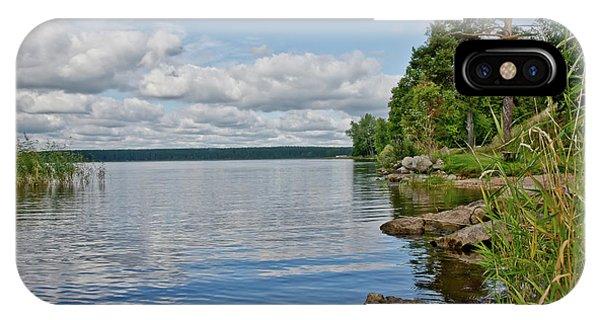 Lake Seliger IPhone Case