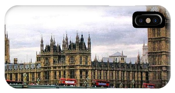 London Bridge iPhone Case - London by Luisa Azzolini