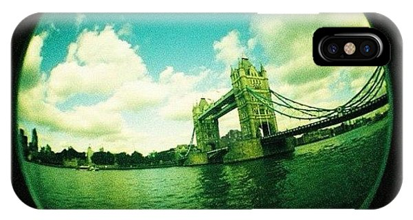 London iPhone Case - #london by Ozan Goren