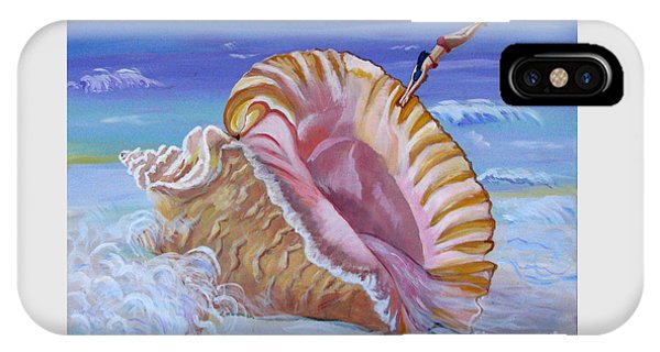 Magic Conch Shell IPhone Case