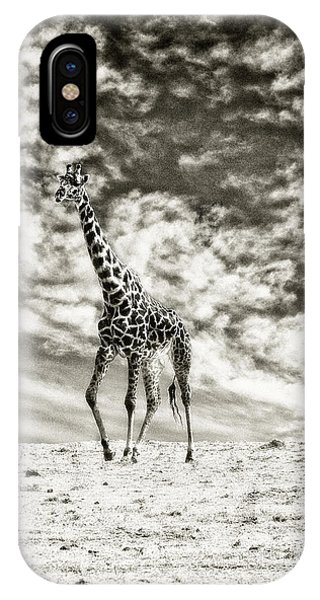 Male Giraffe IPhone Case
