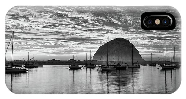 Morro Bay On Fire IPhone Case
