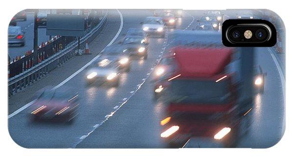 Motorway Traffic Phone Case by Jeremy Walker