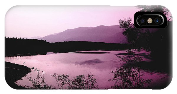 Mountain Twilight Phone Case by Ann Powell