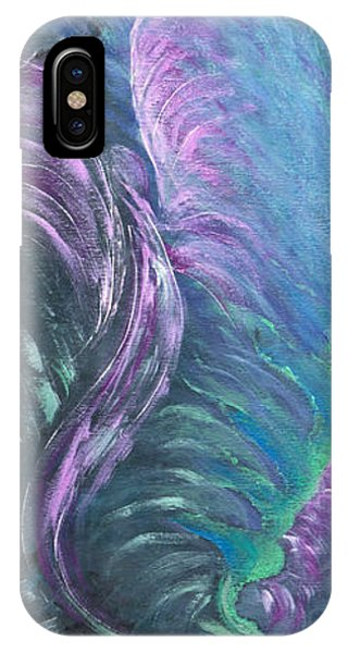 Northern Lights Phone Case by Judy M Watts-Rohanna