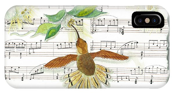 1 Of 2 - Natures Symphony-the Conductor IPhone Case