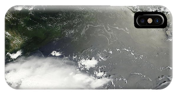 Oil Slick In The Gulf Of Mexico IPhone Case