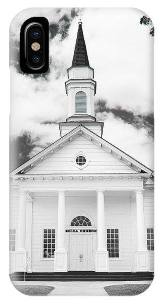 Old Koloa Church IPhone Case