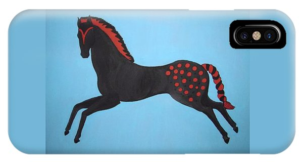 Painted Pony IPhone Case