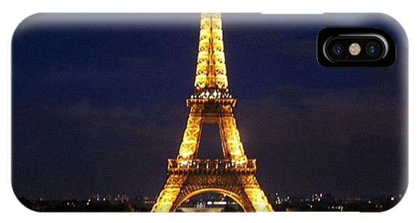 Light iPhone Case - Paris By Night by Luisa Azzolini
