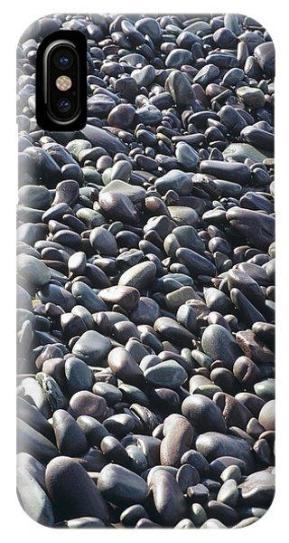 Pebbles On A Beach Phone Case by David Aubrey