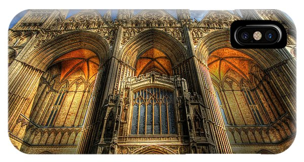 Peterborough Cathedral IPhone Case