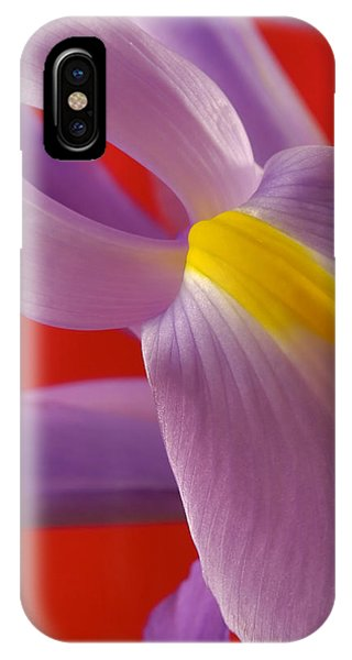Photograph Of A Dutch Iris IPhone Case