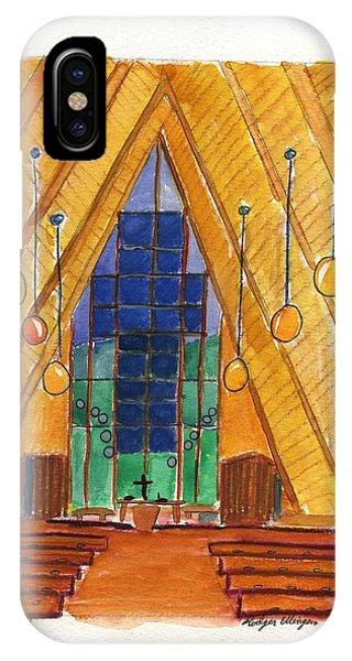 Placerville Chapel IPhone Case