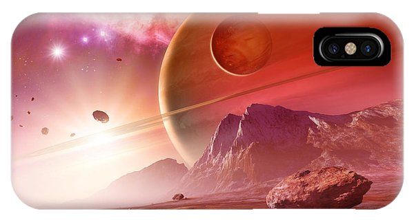 Planets In The Orion Nebula Phone Case by Detlev Van Ravenswaay