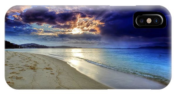 Port Stephens Sunset IPhone Case