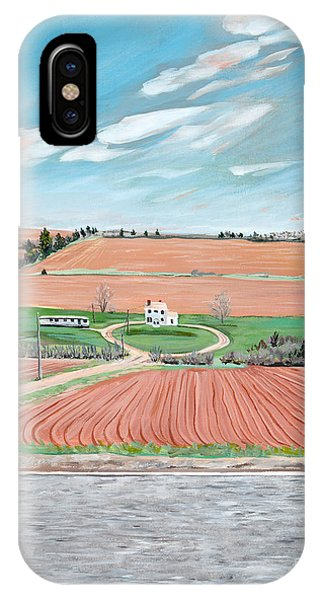 Red Soil On Prince Edward Island IPhone Case