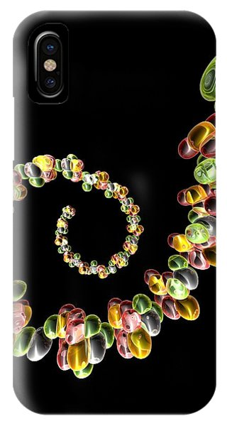 Ribonucleic Acid, Conceptual Artwork Phone Case by Pasieka