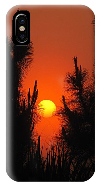 Rise And Pine IPhone Case