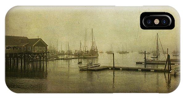 Rockland Harbor IPhone Case