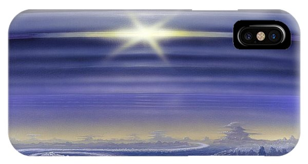 Saturn's Rings, Artwork Phone Case by Richard Bizley