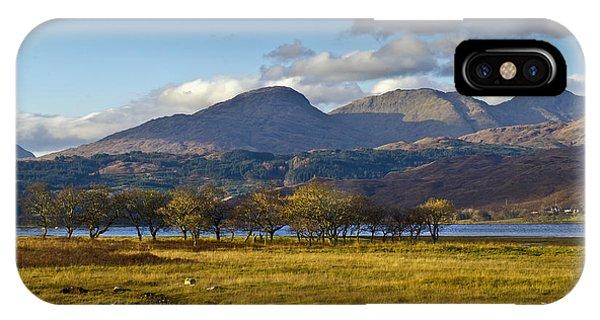 Scottish Landscape View IPhone Case