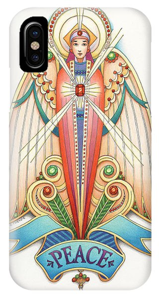 Scroll Angels - Pax IPhone Case