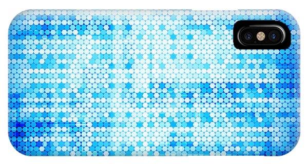 Mottled iPhone Case - Seamless Honeycomb Pattern by Setsiri Silapasuwanchai