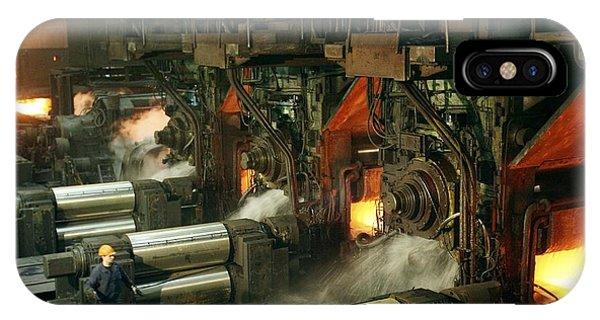 Sheet Mill Processing Molten Metal Phone Case by Ria Novosti